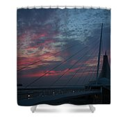 Another Sunrise At The Mam Shower Curtain