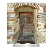 Another Tuscan Door Shower Curtain