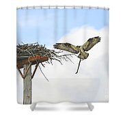 Another Twig For The Nest Shower Curtain