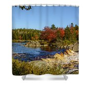 Another View Of Liscombe Falls Shower Curtain