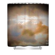 Another View Of Storm Clouds Shower Curtain