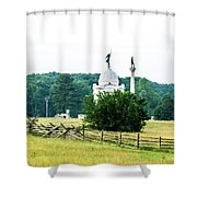Another View Of The Pa Monument Shower Curtain