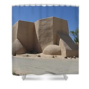 Ansel's Church Shower Curtain by Jerry McElroy