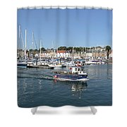 Anstruther Away Fishing Shower Curtain