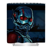 Ant Man Painting Shower Curtain