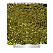 Ant Nest Abstract Fabric Design # 2 Shower Curtain