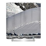 Antarctic Bliss  Shower Curtain