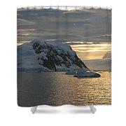 Antarctic Coast Shower Curtain