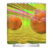 Antares And Company Shower Curtain