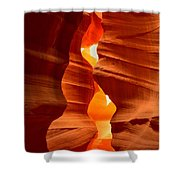 Antelope Canyon Candle Shower Curtain