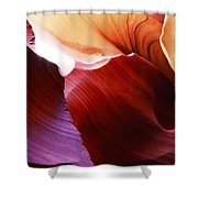Antelope Canyon Layers Shower Curtain