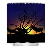 Antelope Crossing Shower Curtain