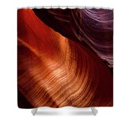 Antelope Curves Shower Curtain