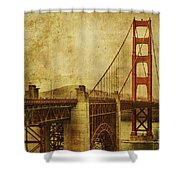 Anterior Treks Shower Curtain