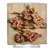 Anthem Of Old England Shower Curtain