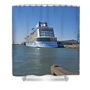 Anthem Of The Seas Southampton Shower Curtain
