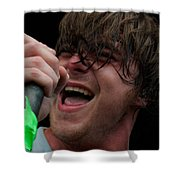 Anthony Green Of Circa Survive Shower Curtain