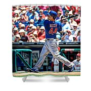 Anthony Rizzo Shower Curtain