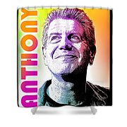 Anthony Tribute Shower Curtain