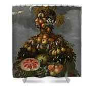 Anthropomorphic Allegory Of Summer Shower Curtain