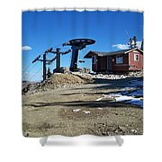 Anticipation Shower Curtain by Michael Cuozzo