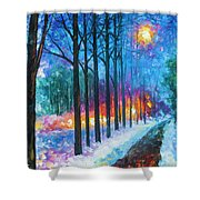 Anticipation Of Spring  Shower Curtain