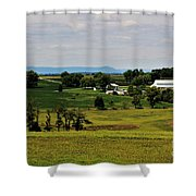 Antietam Battlefield And Mumma Farm Shower Curtain