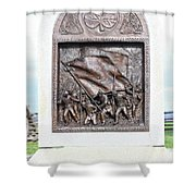 Antietam Irish Brigade Shower Curtain