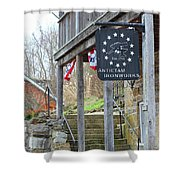 Antietam Ironworks Shower Curtain