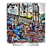 Antigua Market Shower Curtain