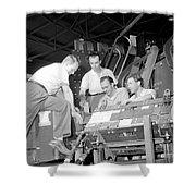 Antineutron Discovery Team, 1956 Shower Curtain