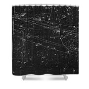 Antiproton Annihilation, Bubble Chamber Shower Curtain