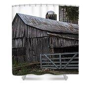 Antique Barn Shower Curtain