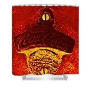 Antique Bottle Opener 2 Shower Curtain
