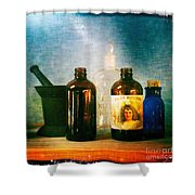 Antique Comforts Shower Curtain