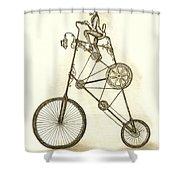 Antique Contraption Shower Curtain