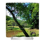 Antique Farm Equipment 4 Shower Curtain