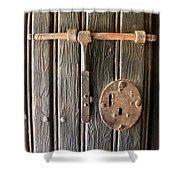 Antique Hardware  Shower Curtain