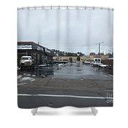 Antique Jeep Shower Curtain