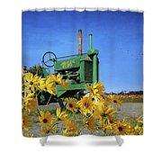 Antique John Deere Shower Curtain