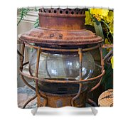 Antique Lantern Shower Curtain