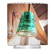 Antique Light Fixture 2 Shower Curtain