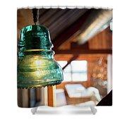 Antique Light Fixture 4 Shower Curtain