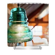 Antique Light Fixture 5 Shower Curtain