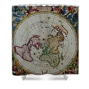 Antique Map Vintage Very Stylish Piece Shower Curtain