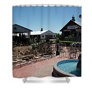 Antique Market Patio Shower Curtain