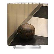 Antique Medicine Ball Shower Curtain