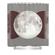 Antique Moon Shower Curtain