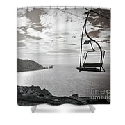 Antique Needles Isle Of Wight Shower Curtain