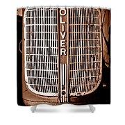Antique Oliver 70 Shower Curtain